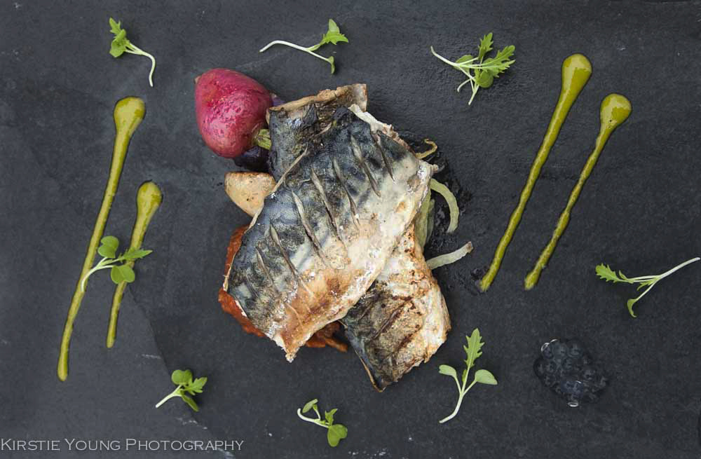 cooked mackerel